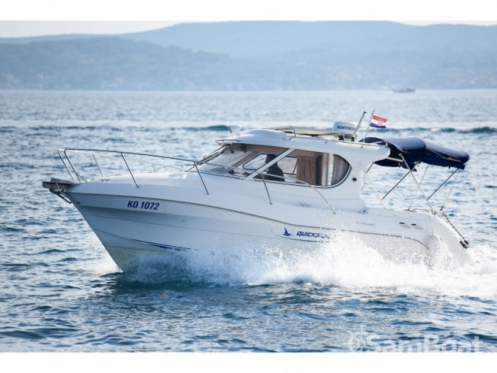 Location bateau Marina Zadar pas cher Quicksilver 750