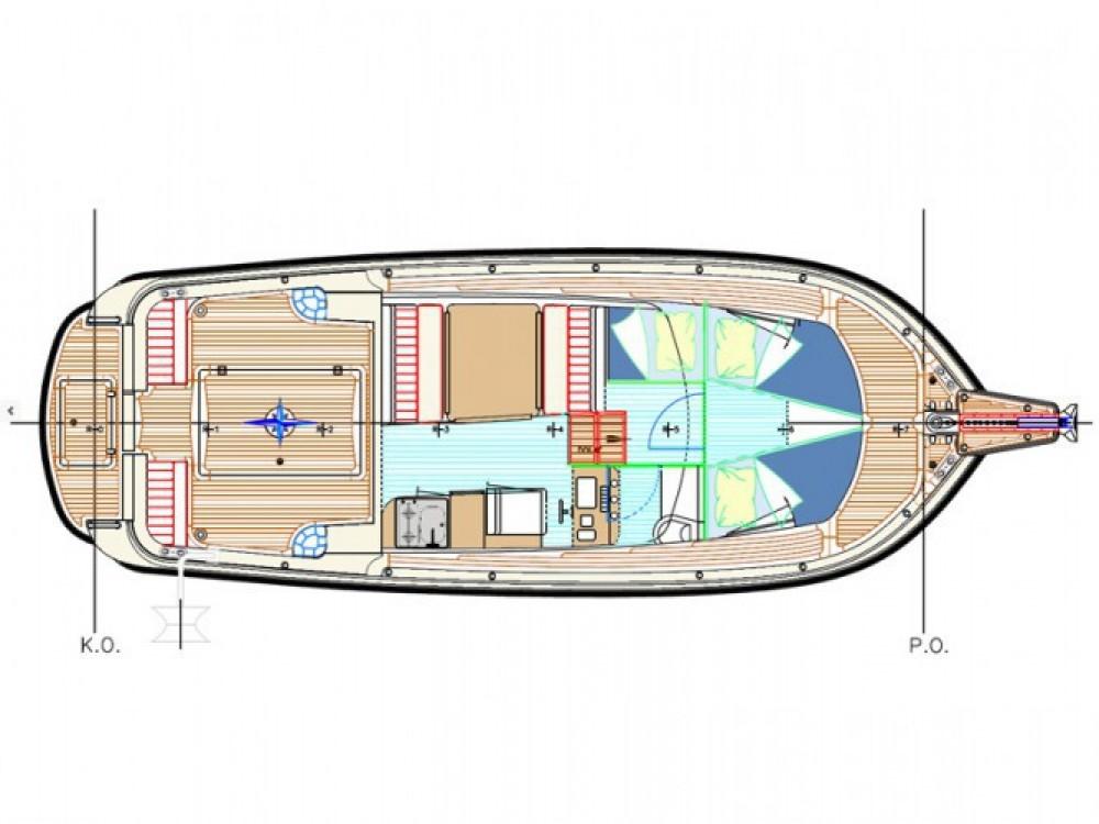 Louer Bateau à moteur avec ou sans skipper Damor à Marina Zadar
