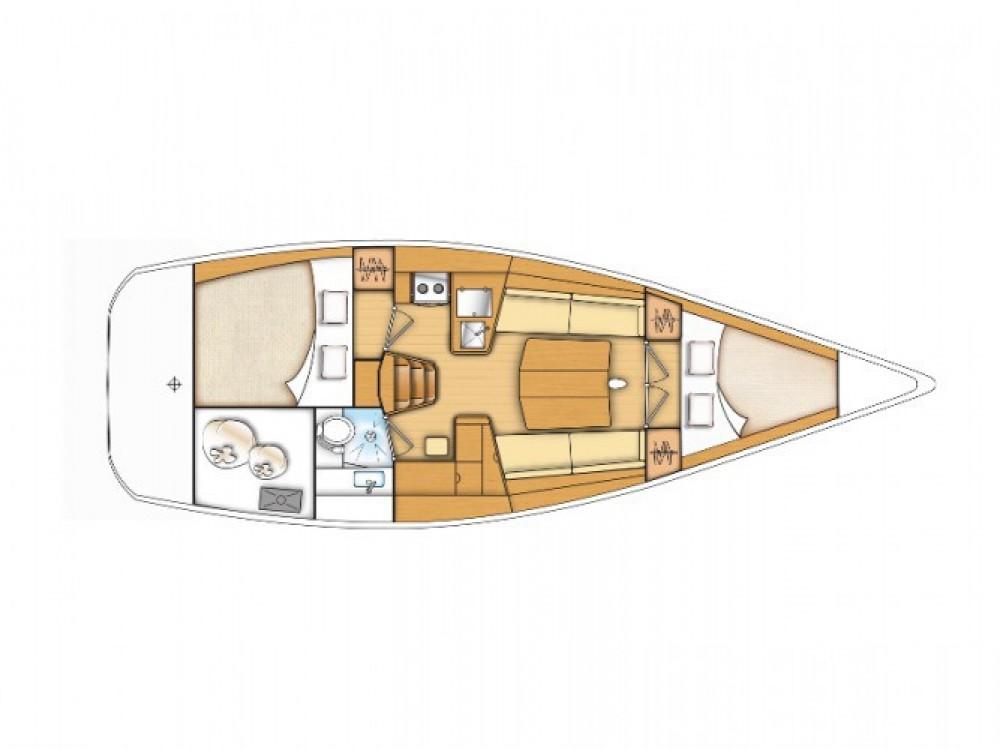 Noleggio Barca a vela con o senza skipper Bénéteau Murter