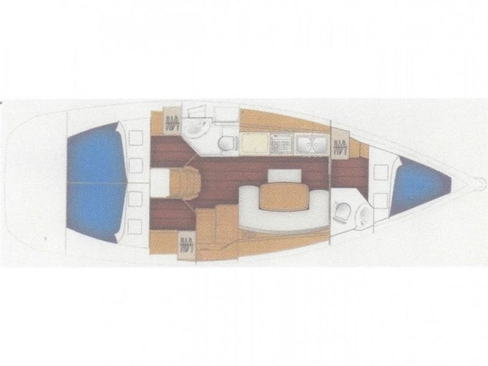 Location bateau Fethiye pas cher Cyclades 39.3