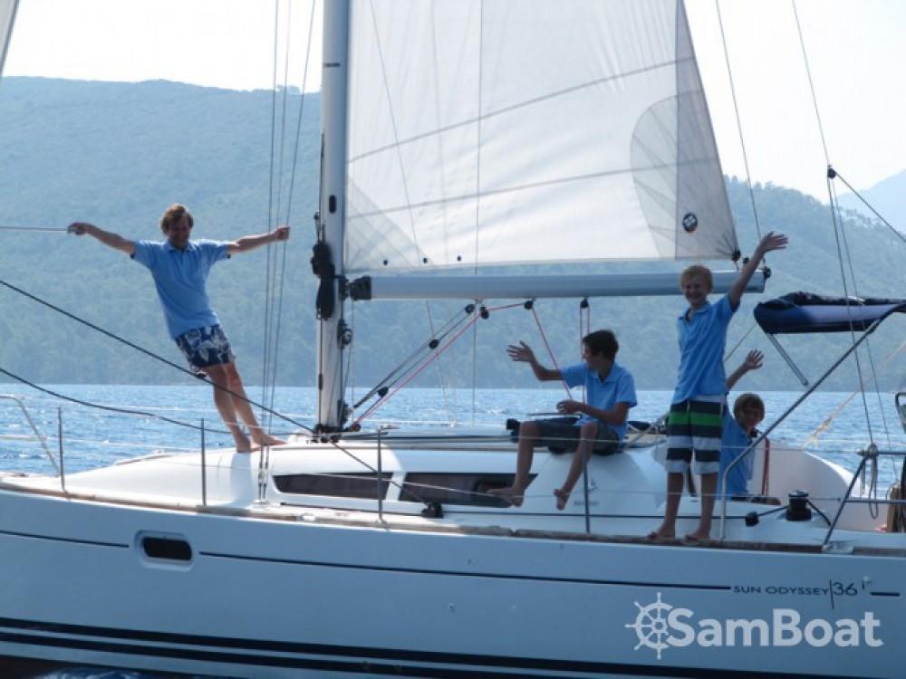 Location bateau Fethiye pas cher Sun Odyssey 36i