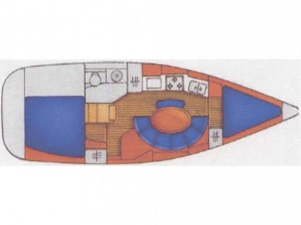 Location bateau Fethiye pas cher Sun Odyssey 34.2