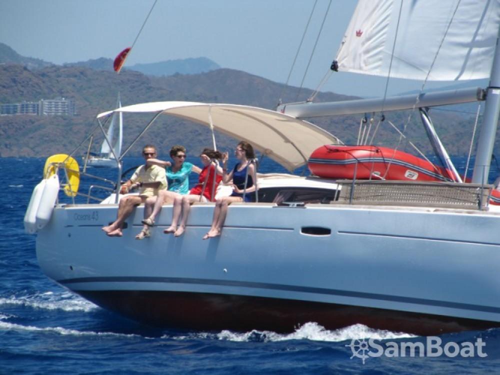 Location bateau Bénéteau Oceanis 43 à Fethiye sur Samboat