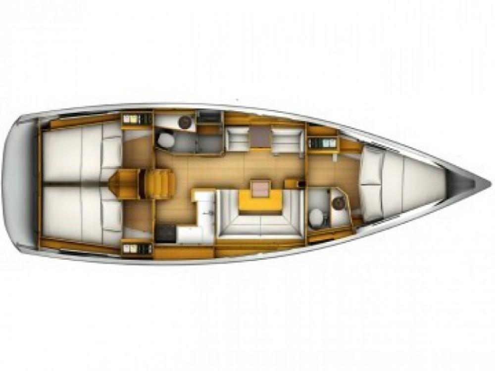 Location bateau Jeanneau Sun Odyssey 419 à Fethiye sur Samboat