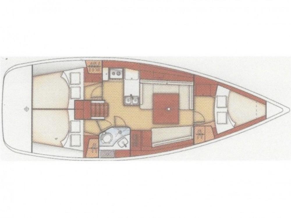 Location bateau Bénéteau Oceanis 37 à Fethiye sur Samboat