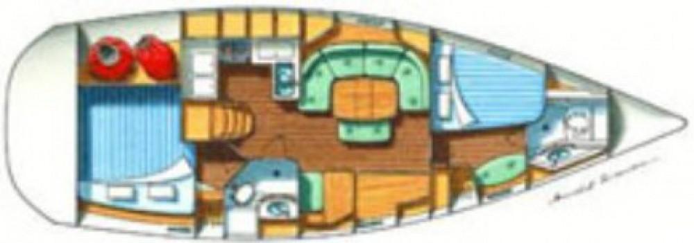 Location bateau Fethiye pas cher Oceanis 37