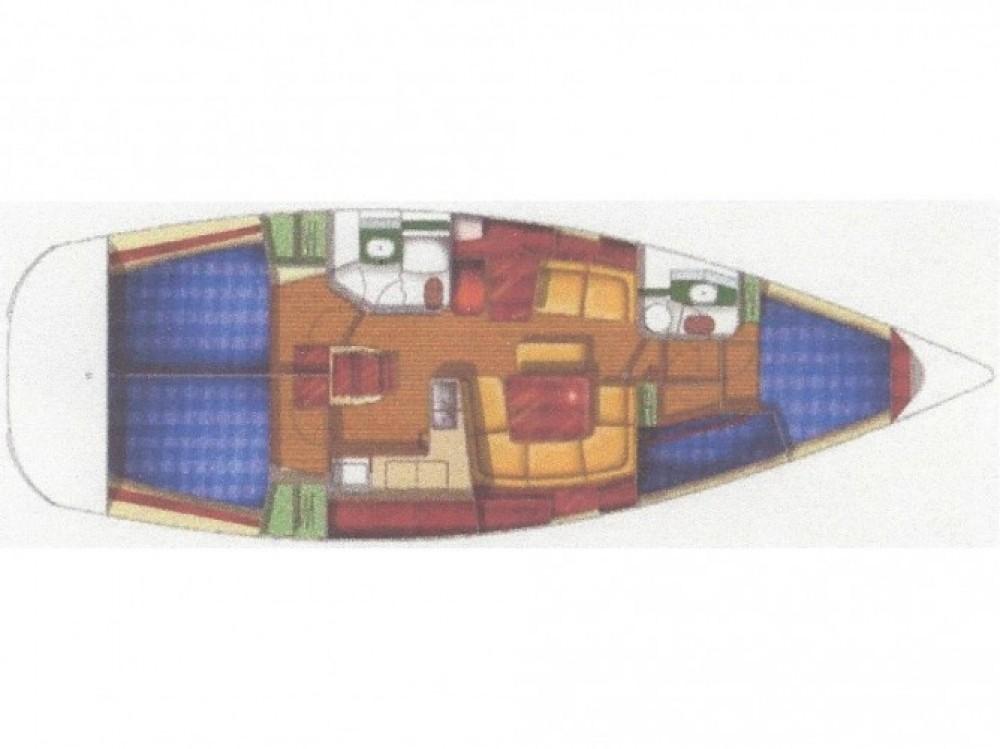 Jeanneau Sun Odyssey 43 entre particuliers et professionnel à Fethiye
