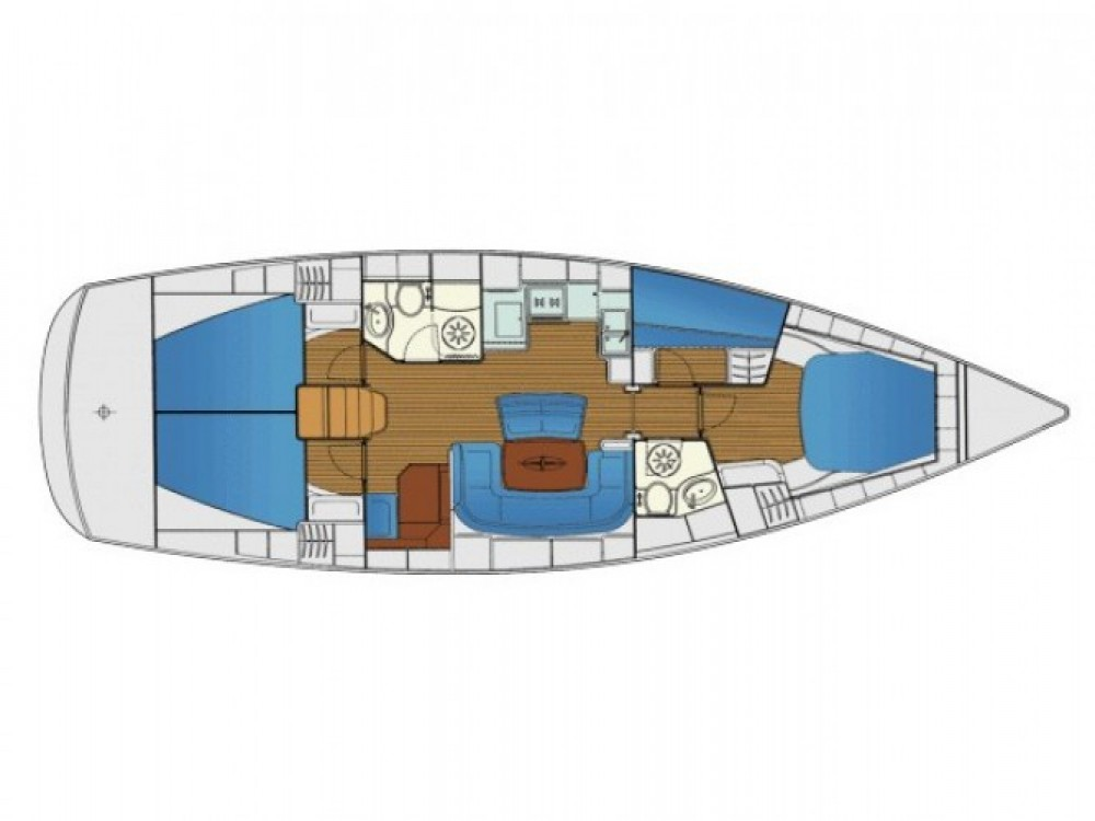 Location Voilier à Cagliari - Bavaria Cruiser 46