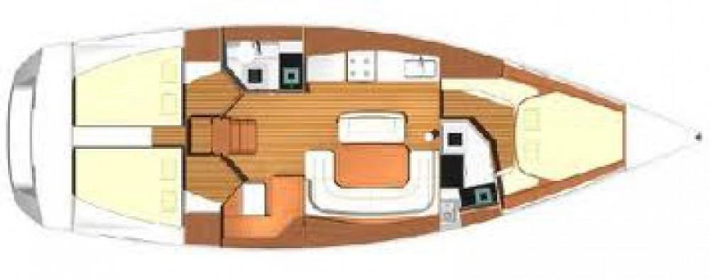 Location yacht à Marina di Portisco - Dufour Dufour 425 Grand Large sur SamBoat