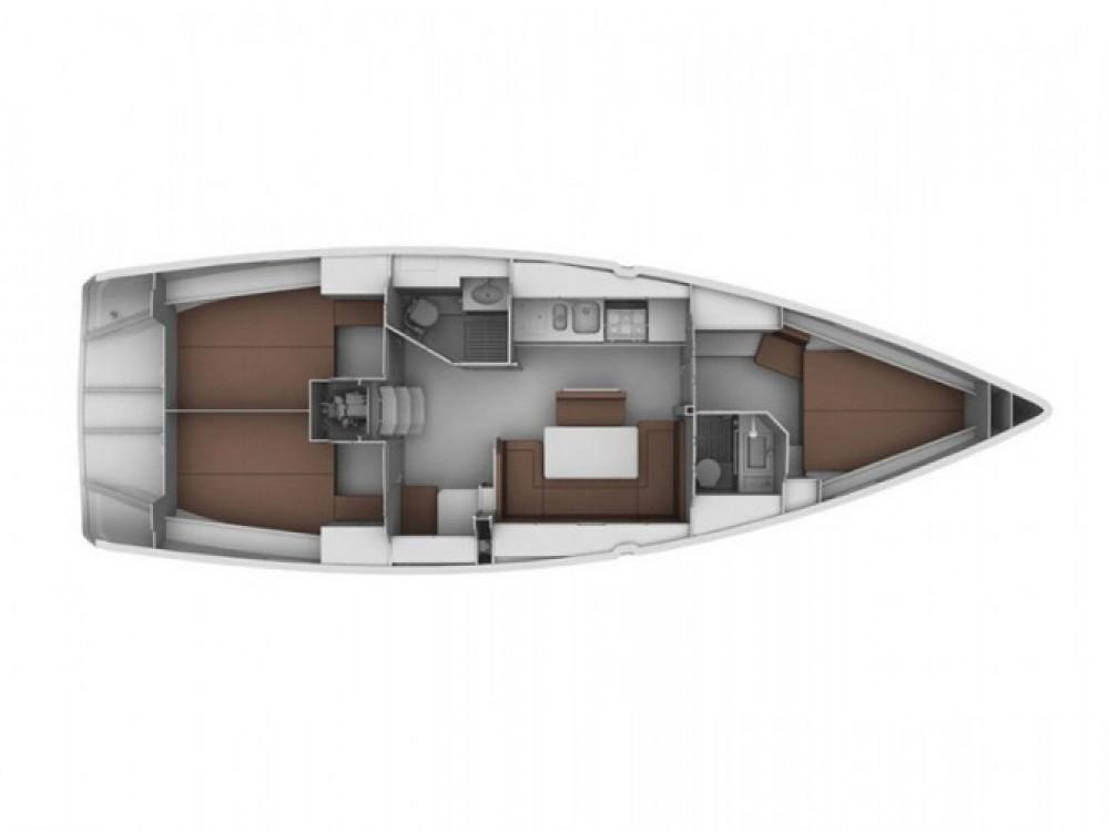 Location bateau Cagliari pas cher Bavaria Cruiser 40