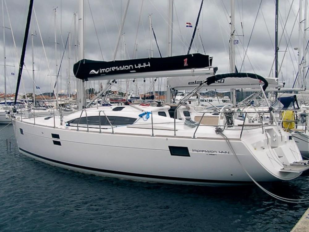 Location yacht à Marina Kornati - Elan Elan 444 Impression sur SamBoat