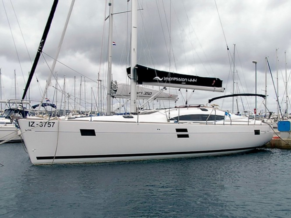 Location bateau Marina Kornati pas cher Elan 444 Impression