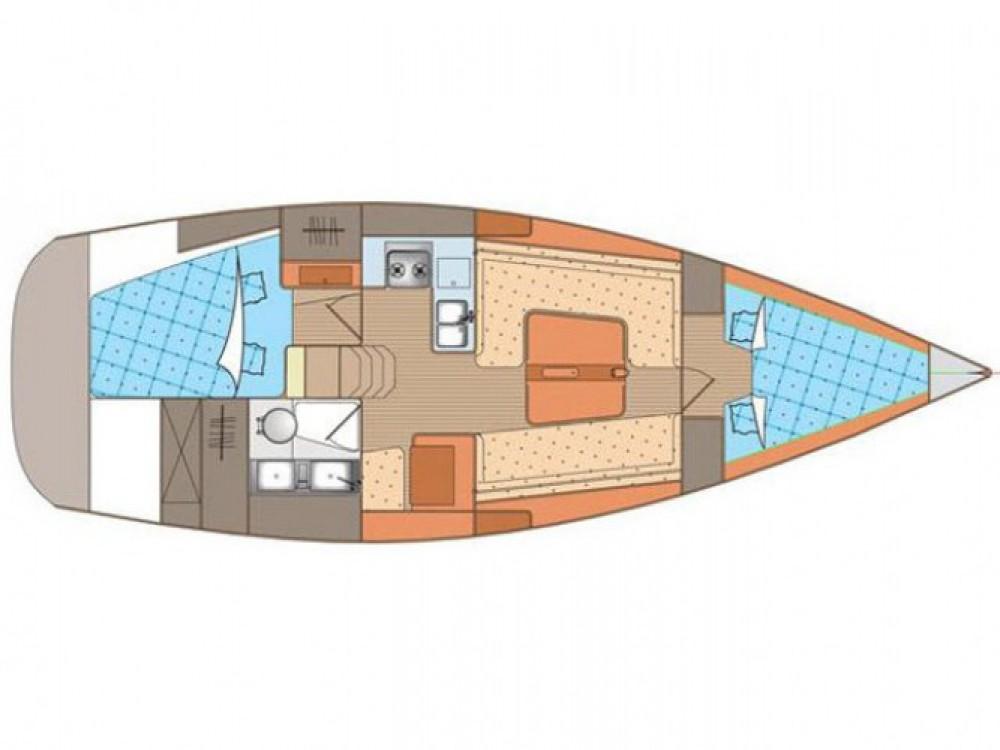 Location yacht à Marina Kornati - Elan Elan 340 sur SamBoat