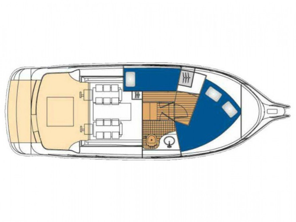 Location bateau Marina Zadar pas cher Vektor 950