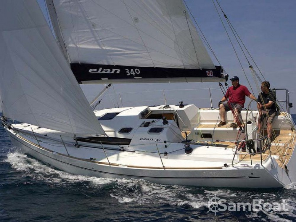 Location bateau Elan Elan 340 à Marina Kornati sur Samboat