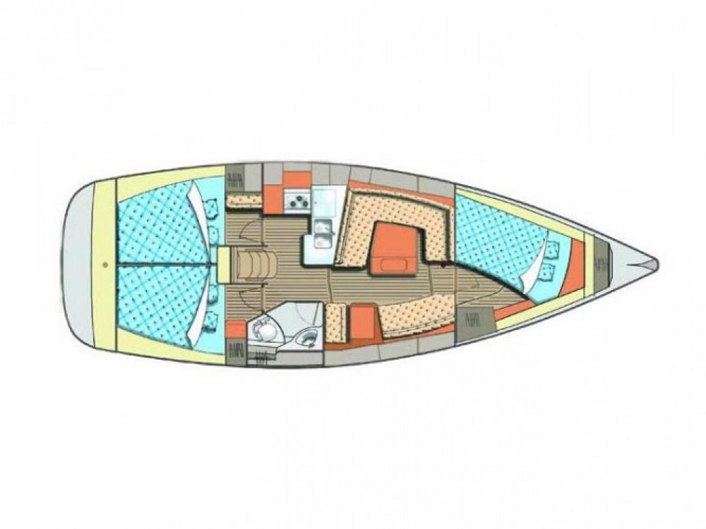 Location yacht à Marina Kornati - Elan Elan 384 sur SamBoat