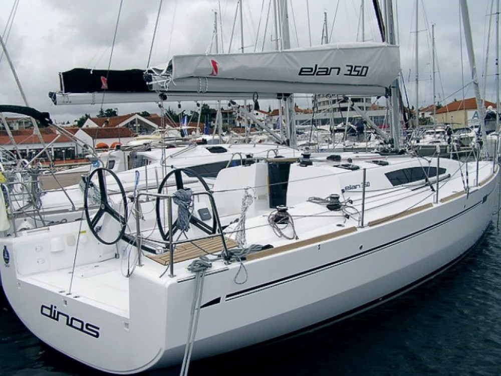 Location bateau Elan Elan 350 à Marina Kornati sur Samboat