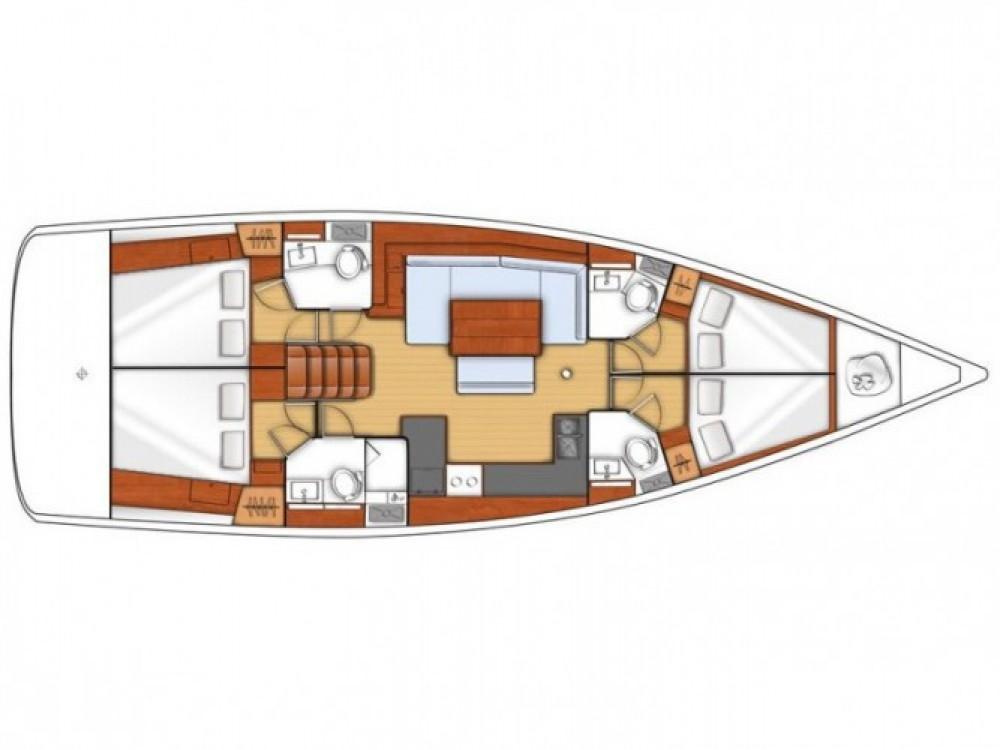 Location bateau Bénéteau Oceanis 48 (4 cabins) à  sur Samboat