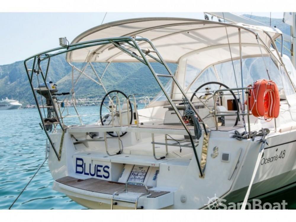 Location bateau Bénéteau Oceanis 48 à Tivat sur Samboat