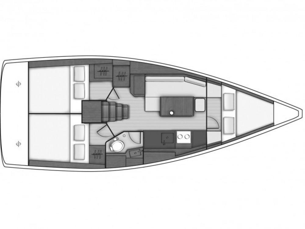 Location bateau Bénéteau Oceanis 38 à Tivat sur Samboat