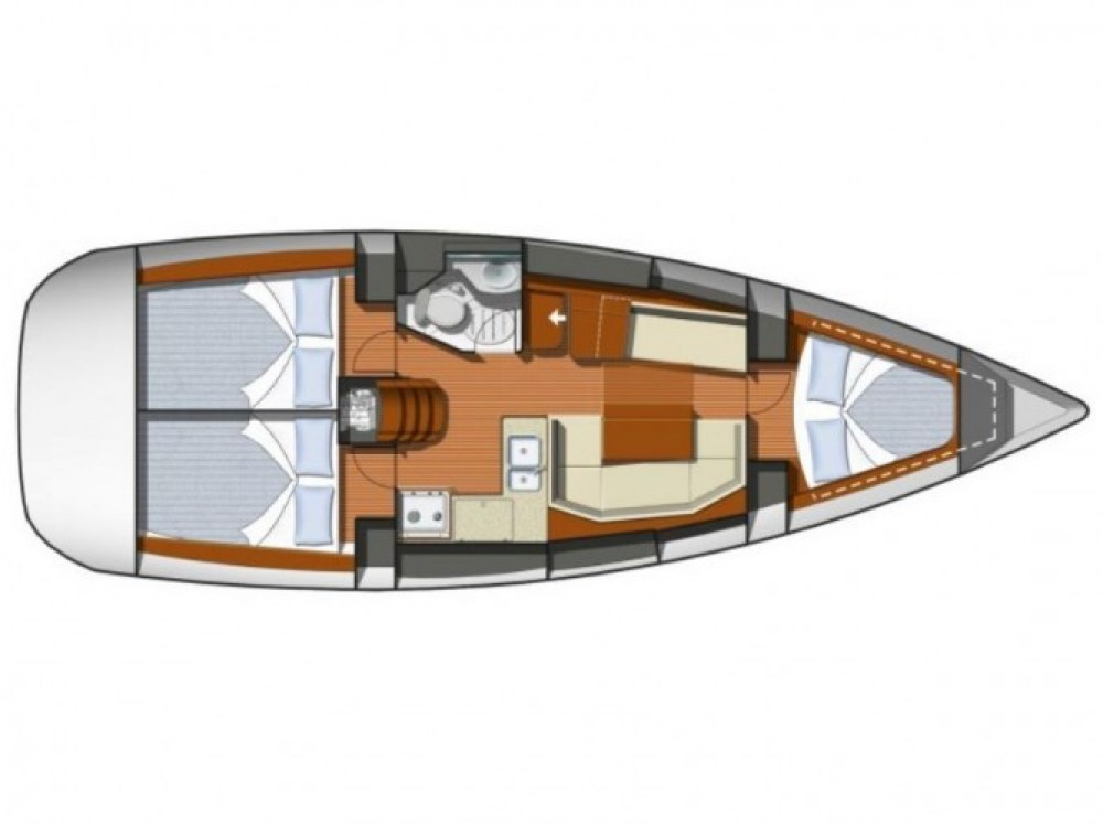 Location bateau Marina Gouvia pas cher Sun Odyssey 36i