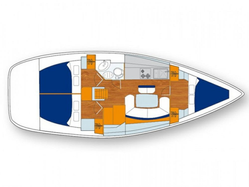 Location bateau Marina Gouvia pas cher Cyclades 39