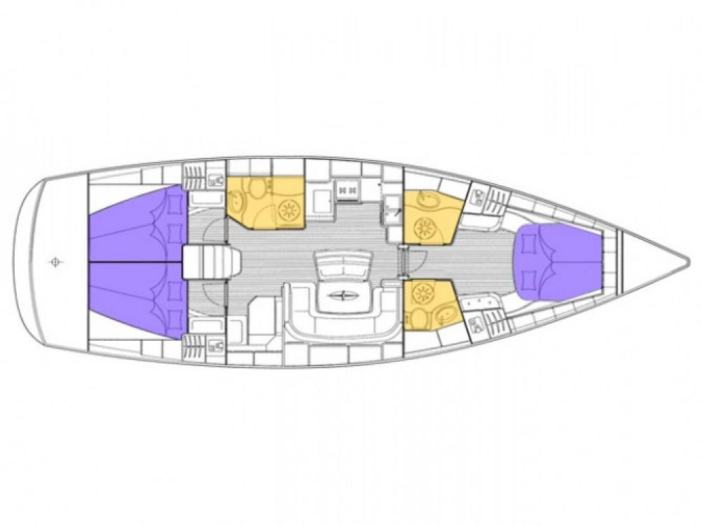 Location bateau Alibey pas cher Cruiser 46