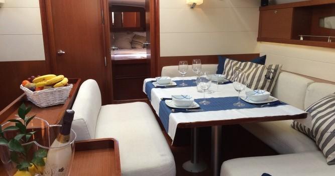 Location bateau Sant Antoni de Portmany pas cher Oceanis 50 Family