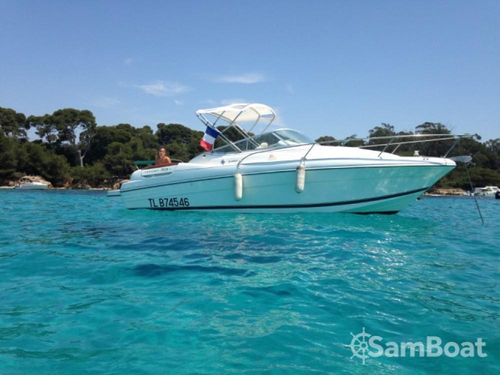 Location bateau Jeanneau Leader 705 à Mandelieu-la-Napoule sur Samboat