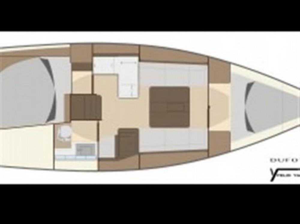 Location bateau Dufour 335 à Arzon sur Samboat