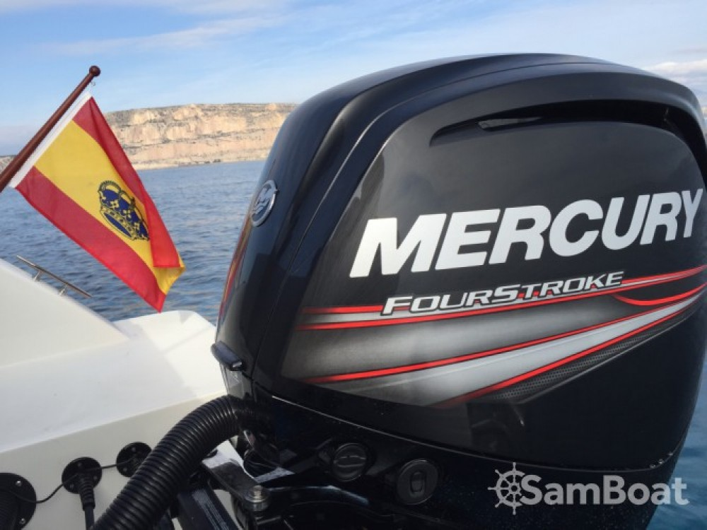 Rent a Quicksilver Activ 605 Open Alicante