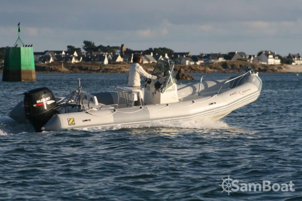 Location bateau Zodiac Pro Open à Lorient sur Samboat