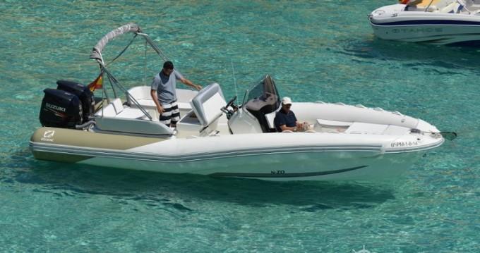 Zodiac N-ZO 760 zwischen Privatpersonen und professionellem Anbieter Club de Mar