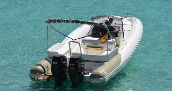 Bootsverleih Club de Mar günstig N-ZO 760