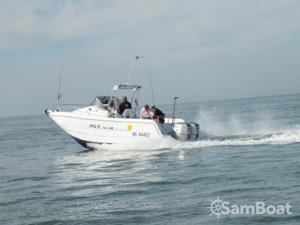 Location yacht à Port de La Palmyre - Lms 7.05 Hors bord 2 moteurs de 115ch Honda sur SamBoat