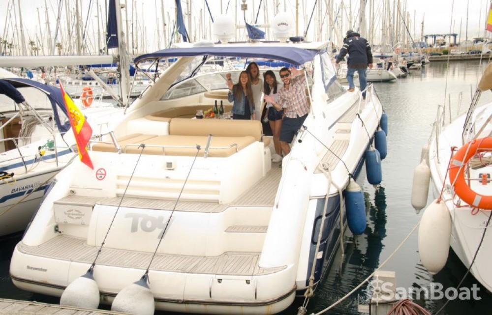 Sunseeker Camargue entre particuliers et professionnel à Port Olímpic