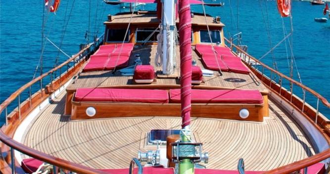Location bateau Bodrum pas cher Gulet Il Fratello