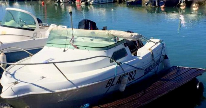 Rental Motor boat in Narbonne-Plage - Quicksilver Quicksilver 435 Open