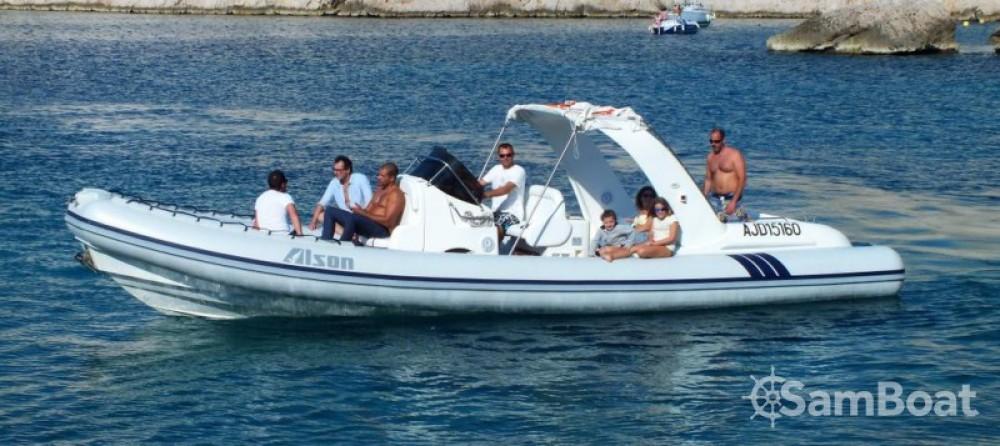 Schlauchboot mieten in Marseille - Alson Charme 32