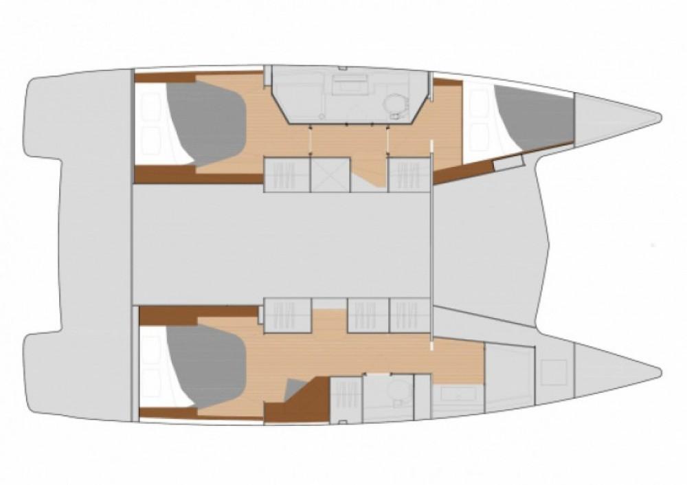 Location yacht à Zadar - Fountaine Pajot Lucia 40 sur SamBoat