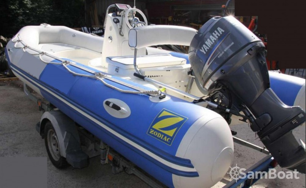 Location bateau Zodiac Sundream à Cany-Barville sur Samboat