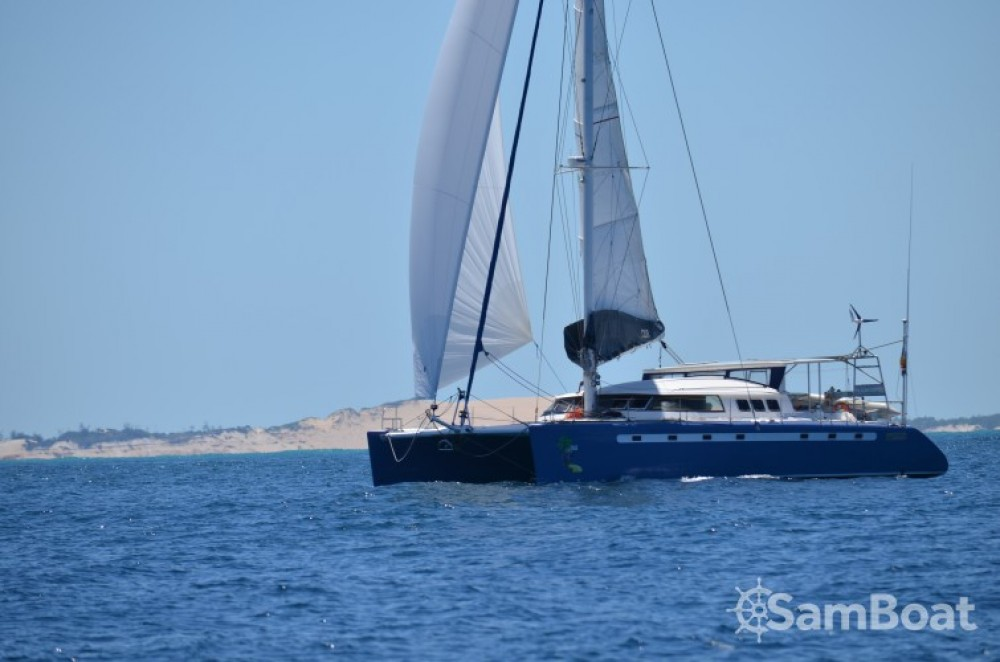 Location Catamaran à Papeete - Fountaine Pajot Marquise 56