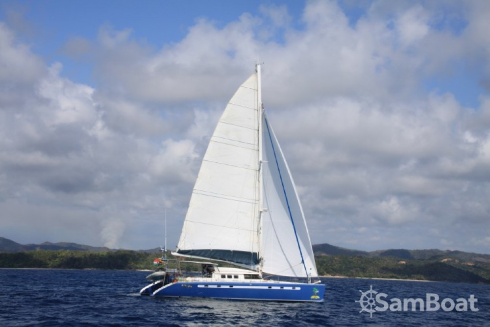 Location Catamaran à Papeete - Fountaine Pajot Marquise 56