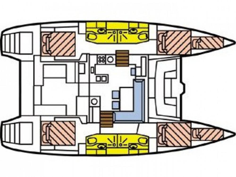 Location bateau Pointe-à-Pitre pas cher Lagoon 450