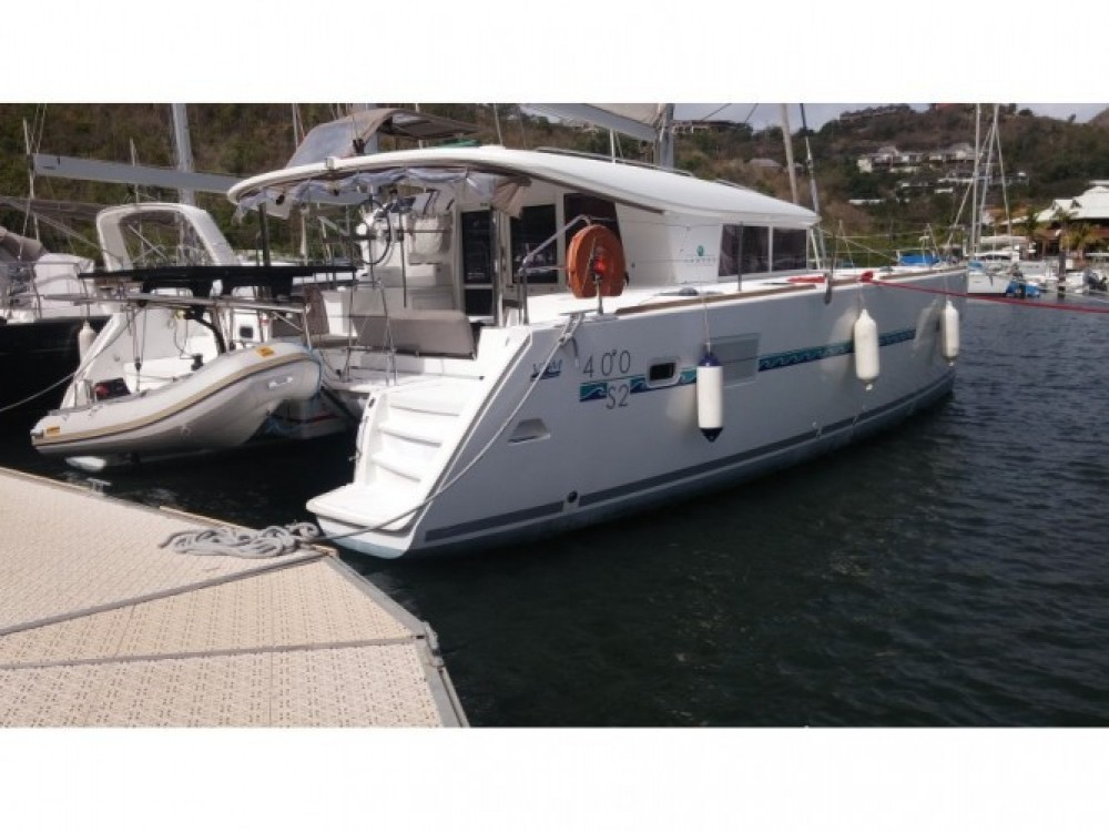 Location bateau Lagoon Lagoon 400 S2 à Grand Case sur Samboat