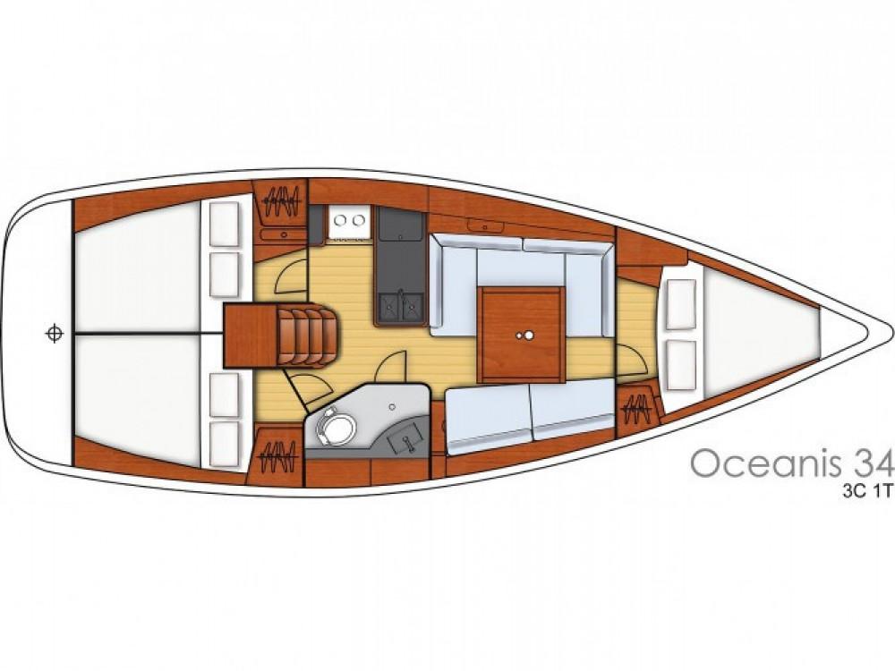 Location yacht à Sukošan - Bénéteau Oceanis 34 sur SamBoat