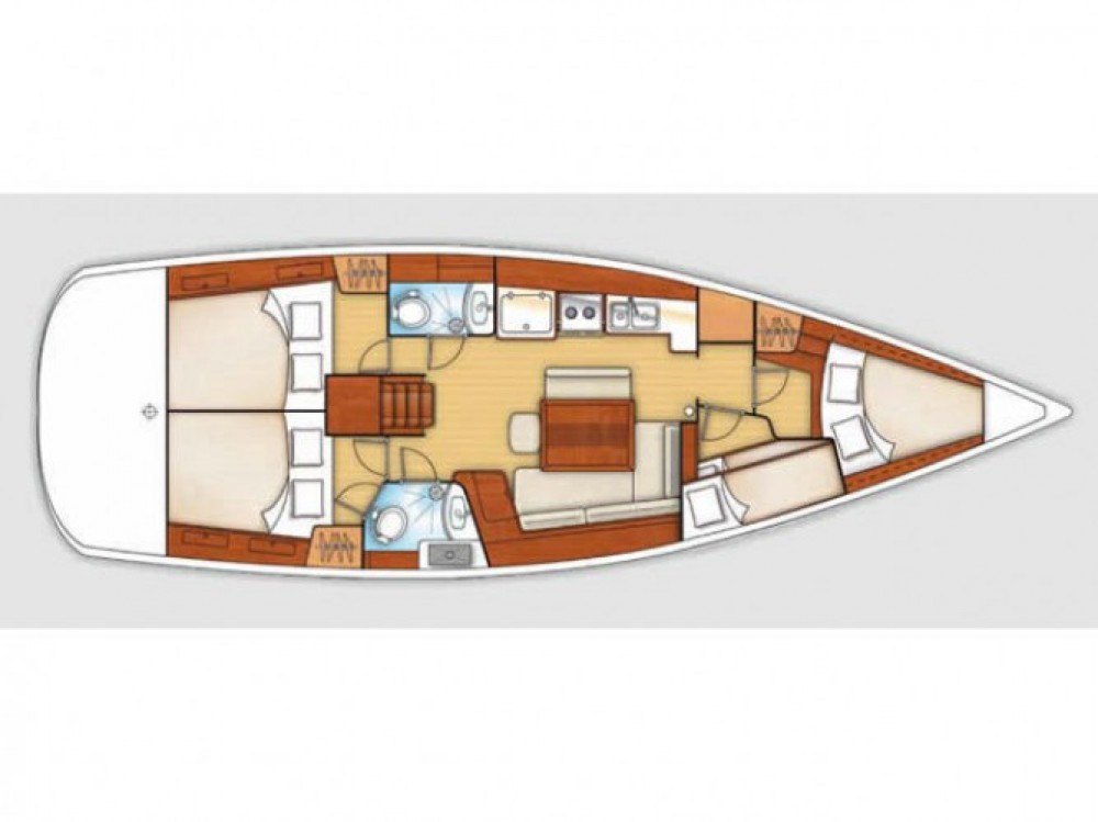 Location yacht à Sukošan - Bénéteau Oceanis 43 BS sur SamBoat