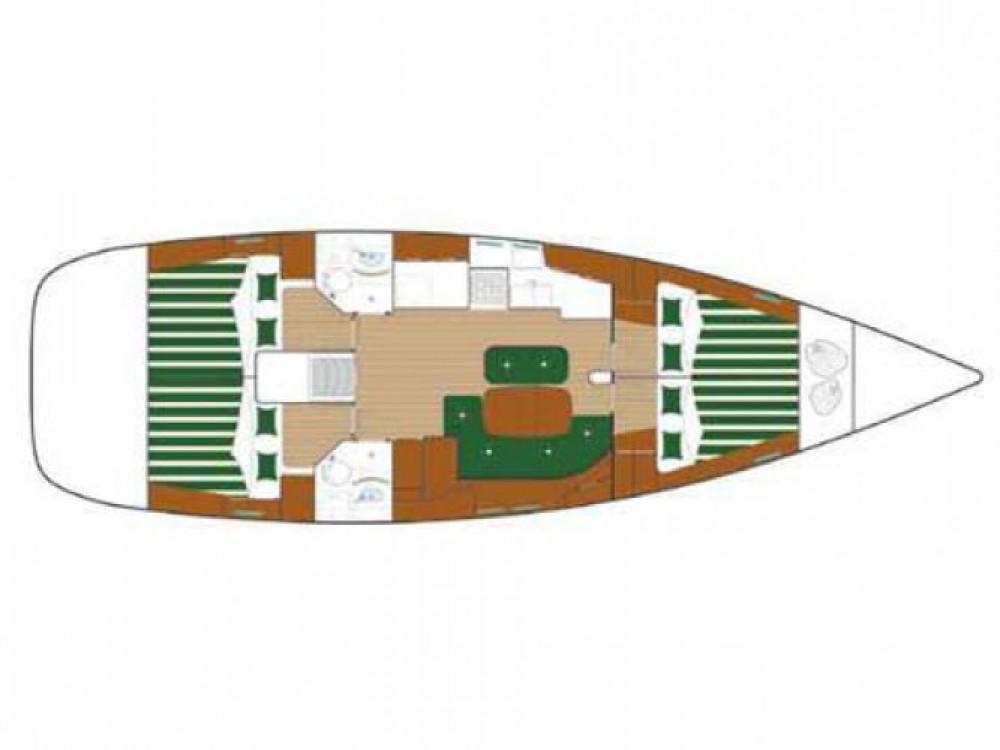 Location bateau Bénéteau Oceanis 473 à Sukošan sur Samboat