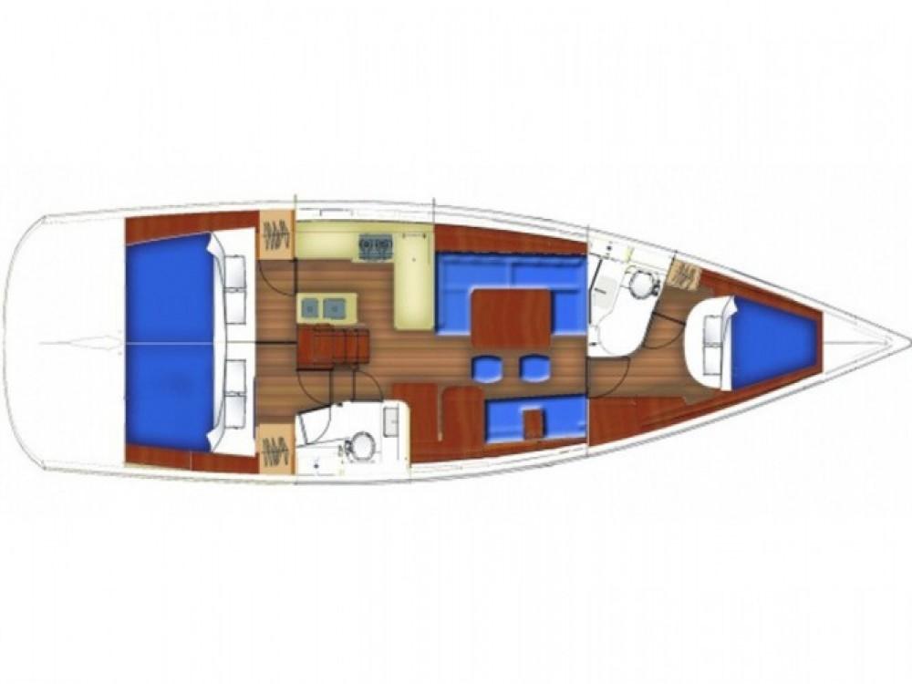 Location bateau Bénéteau Oceanis 46 à Sukošan sur Samboat