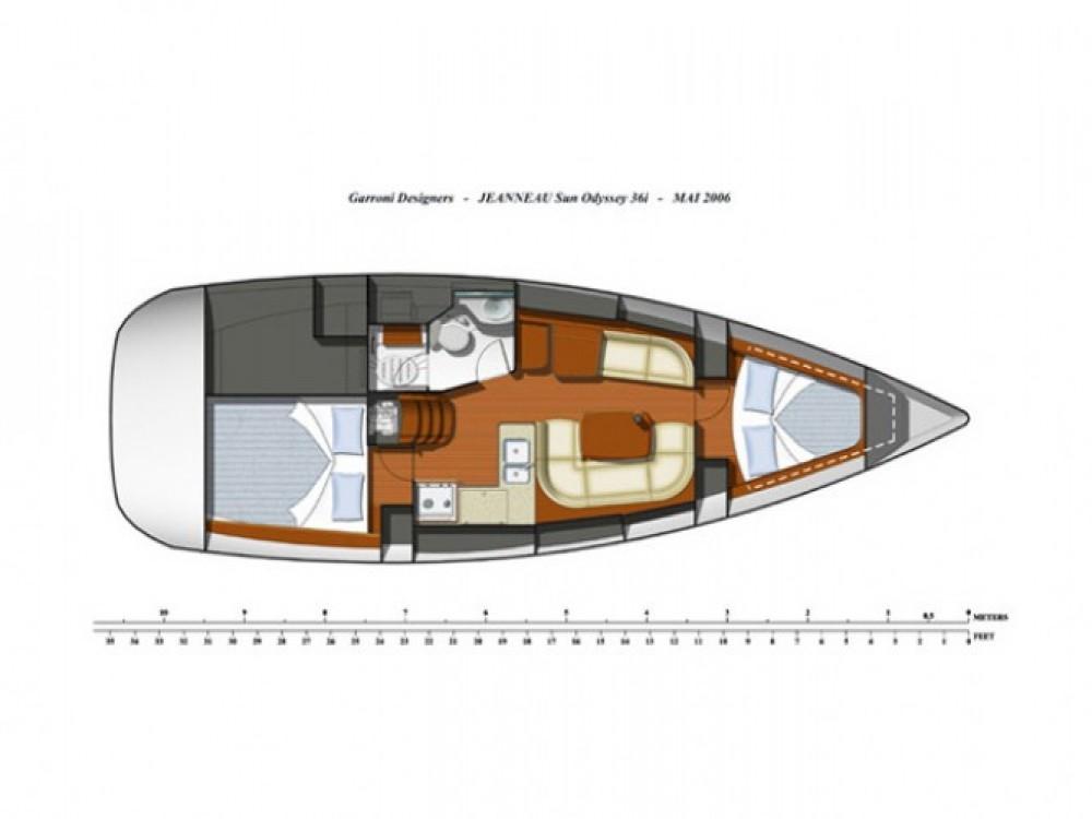 Location bateau Salerne pas cher Sun Odyssey 36i
